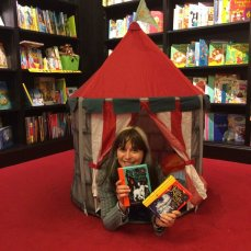 Tents in Waterstones at Cribbs Causeway