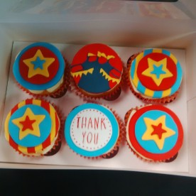 Special themed circus cakes!