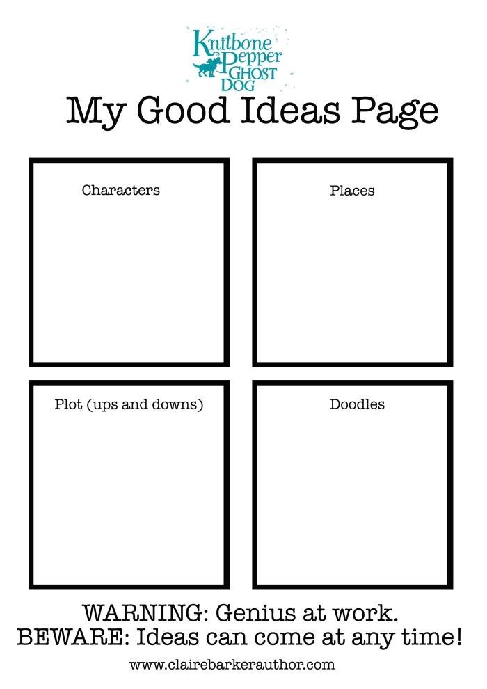 my good ideaspage 3
