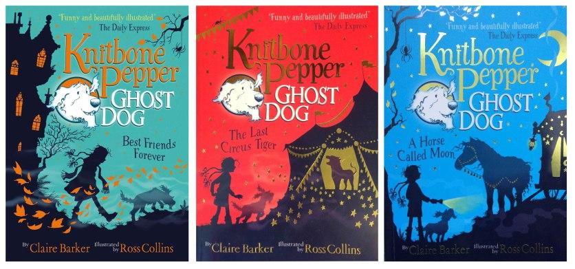 Knitbone Pepper Ghost Dog Published by Usborne
