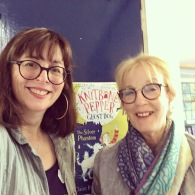 Me with Ros from the Federation of Children's Book Groups